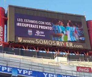 Mensaje a Messi
