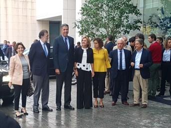 El presidente del Gobierno Mariano Rajoy durante el Congreso del PP en Catalunya / Pilar Suárez